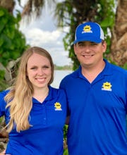 Robyn and Clayton Ray are the owners of Cool Rays Air Conditioning and Heating in Cocoa.