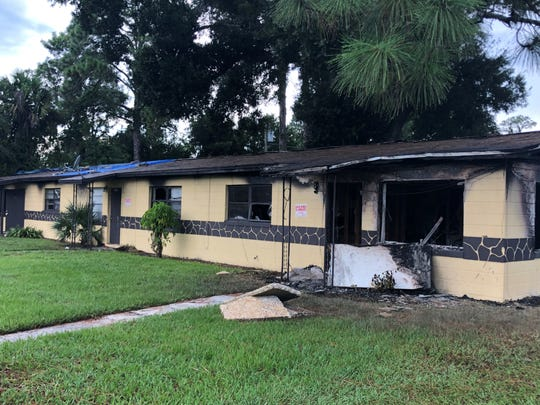 A triplex on the 1000 block on Counts Street in Cocoa was on fire the morning of Aug. 8. A resident, Randy Jones, 30, has been charged with arson.