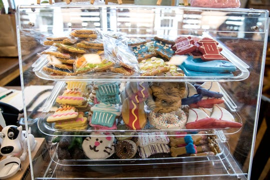 Earthwise is a new heath conscious pet supply store on the Southside. It features foods and treats without preservatives. Other popular items include, special outfits for pet's birthdays, mixes for cookies, doggie ice cream and a large variety of toys.
