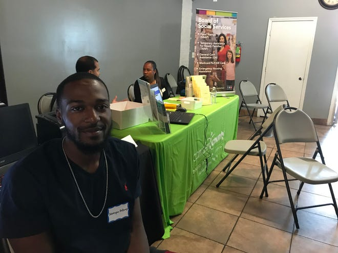 Naasque Holloway is starting a new job at Applebee's and is rebuilding his life after serving almost 7 years in prison.