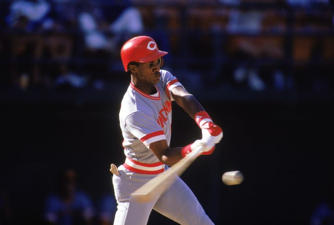 On May 30, 1987 against the Pirates, Eric Davis hit his 19th home run of the season.