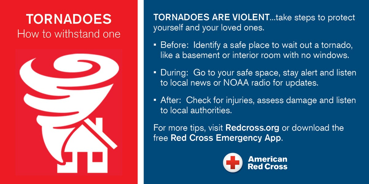 NJ tornado: Severe weather preparation urged by American Red