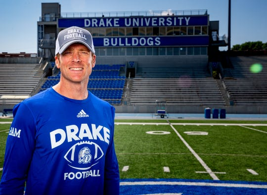 New Drake football coach Todd Stepsis has made some big changes around the program.