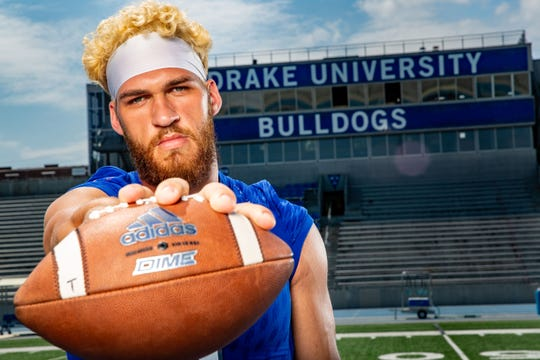 Drake wide receiver Devin Cates has already captured the attention of some NFL teams.