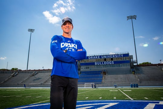 Drake coach Todd Stepsis has gotten some good advice from Dallas Cowboys coach Jason Garrett.