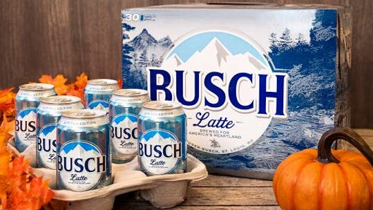 "Limited-edition ""Busch Latte""-labeled beer will be available in Iowa and six other state in 2019."