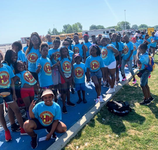 Kids from the Horatio Williams Foundation were treated to trip to Cedar Point.