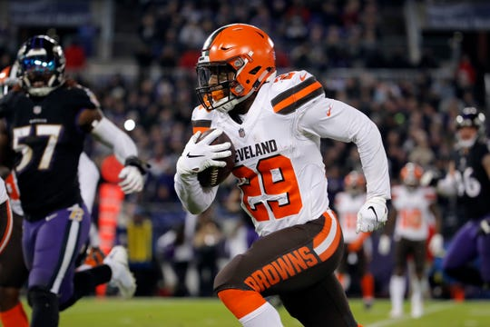 The Browns shipped running back Duke Johnson to the Texans on Thursday.