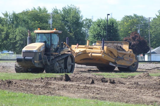 Work continues in preparation for construction of a new Fremont Ross High School, part of a $58.6 million levy to build a high school and four new elementary schools. The new Ross High is expected to open in 2021.