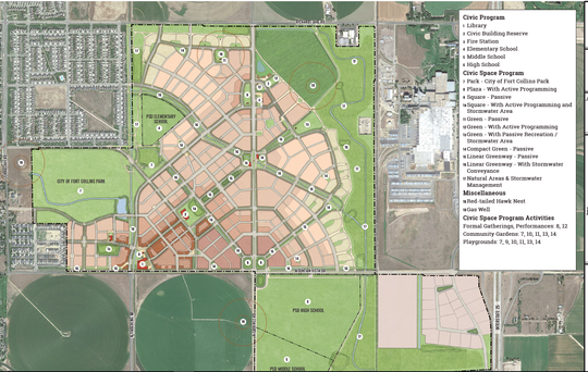 Montava,  850 acres in north Fort Collins, is moving through the city's approval process. If finalized, Montava would bring about 3,900 homes to the Mountain Vista subarea.