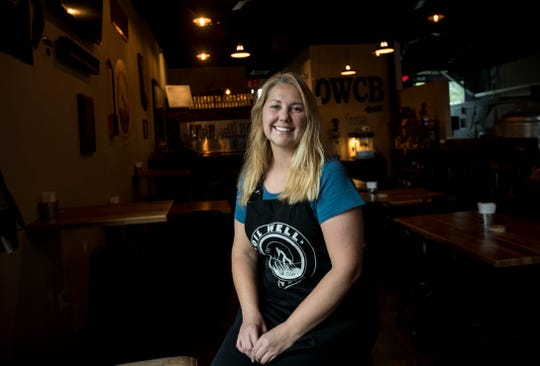 Danee Williams and her husband own Oil Well Craft Brewery in the town of Ave Maria. They both live and work in the young town. She loves the small town for its safety and camaraderie among residents.