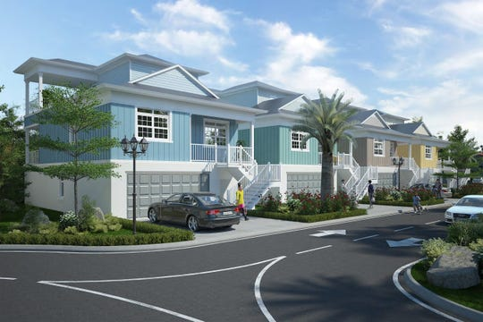 A rendering shows the vision of Gardner's Park Grover near downtown Fort Myers.