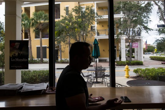 Phong Ho owns the Tropical Smoothie in the town of Ave Maria. He works and lives in the young town.