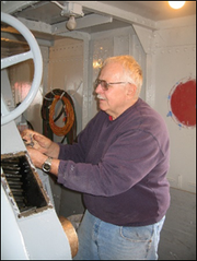 Bob Perlewitz has been named recipient of this year's Mariner Award. The award was presented Aug. 5 by the Door County Maritime Museum.