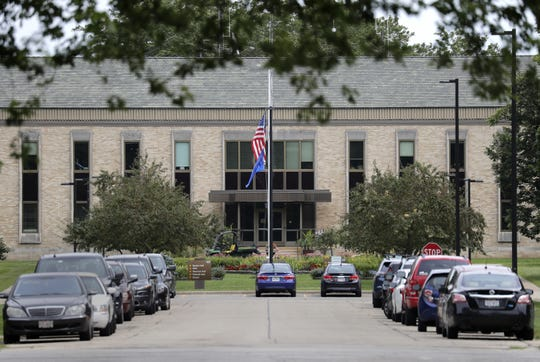 The offices of the Winnebago Mental Health Institute, 4100 Treffert Drive, in Oshkosh.
