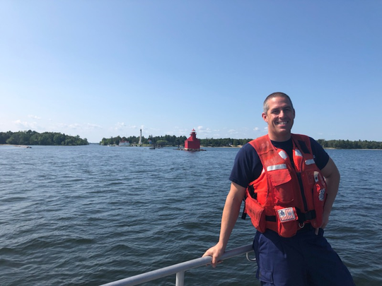 BM1 Andrew Michaels has been named the recipient of this year's Coast Guard Person of the Year Award. The award was presented Aug. 5 by the Door County Maritime Museum.