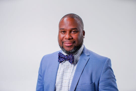 Dr. Carlos Grant is the new principal of Wade Hampton High School.