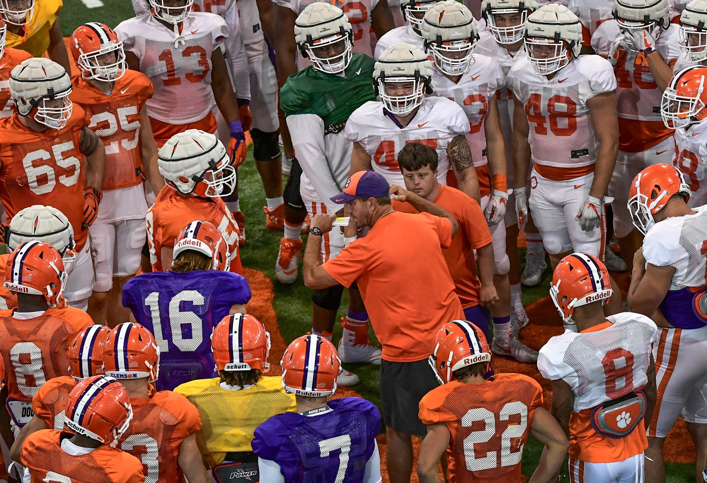 Dabo Swinney Talks About The Team After Aug 8 Practice