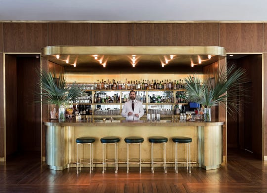 The bar at The Dewberry