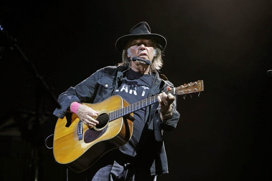 Neil Young will perform Sept. 19 at Old National Centre.