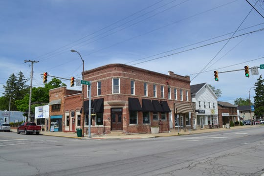 A building in the Westfield Historic District. The district was added this year to the National Register of Historic Places for its importance to the commercial history of the area.