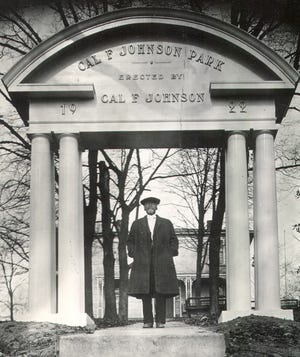 Cal Johnson, a prominent businessman in the late 19th and early 20th centuries. (KNS Archive)