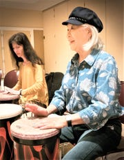 "A customized music program in Nashville. ""We work with activity directors in the senior community,"" said program coordinator Carol Zinavage Shane. ""People may request a musician who can play something really up tempo. Musicians are vetted. Not everybody has the heart for this; some very fine musicians have presented their 1-minute program in a senior setting and find it too distressing."""