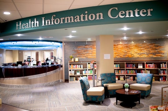 The Health Information Center at UT Medical Center in Knoxville, Tennessee on Thursday, August 8, 2019.
