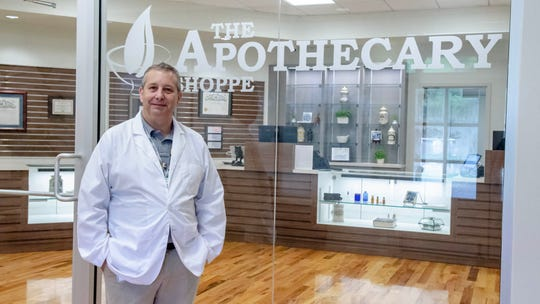 Kevin LaGrange, P.D. is a pharmacist and manager at The Apothecary Shoppe, which is Acadiana's only medical marijuana pharmacy.