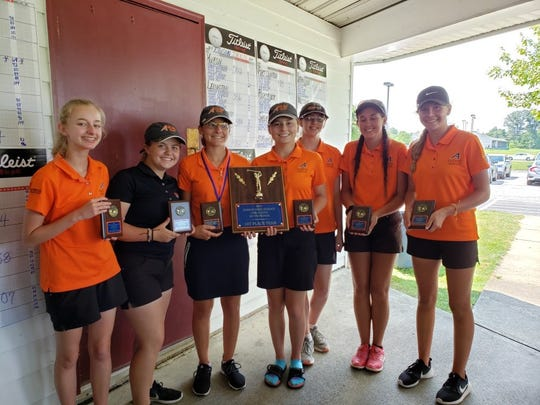 The Ashland Lady Arrows won their third tournament of the season in as many days winning the Edison Invite on Wednesday.
