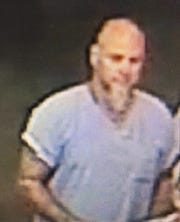 A surveillance image of Curtis Ray Watson before he escaped.