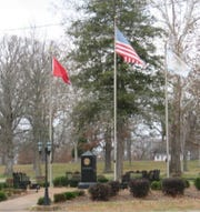 Undated photo of Tennessee Department of Correction memorial to fallen agency employees in Tullahoma, Tenn.