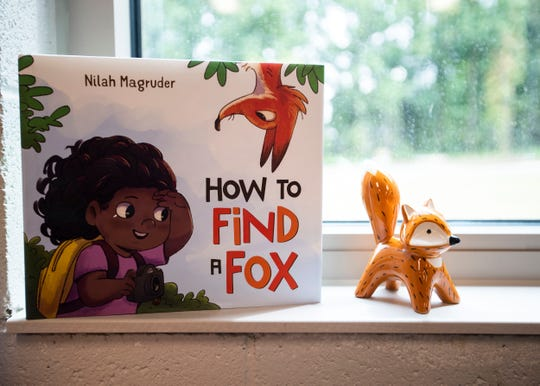 Forest Hill Elementary School in Germantown has thousands of new books for students and stuffed animals to match some of the title characters, including a fox, the school's mascot.