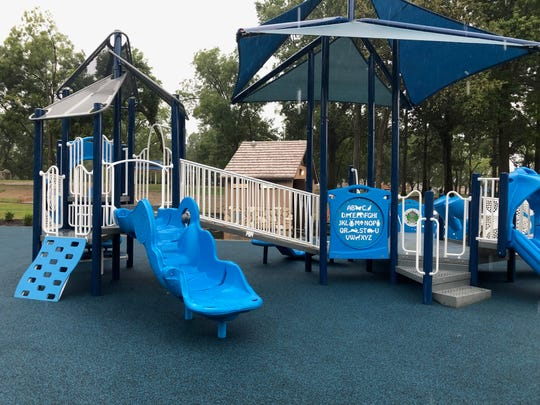 A playground section for children ages 2 to 5 is among the features of the new David Carnes Park in Whitehaven.