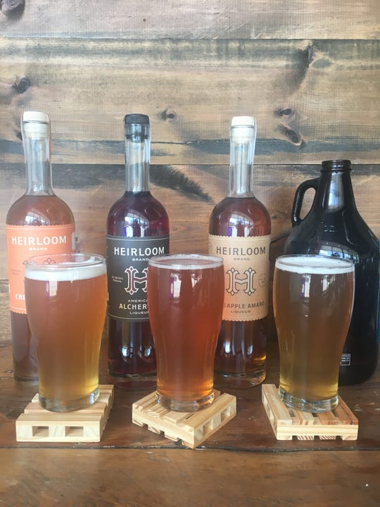 Project Boilermaker on Aug. 8 at Lost Whale bar in Bay View will pair pours of Heirloom Liqueurs with Enlightened Brewing beers.