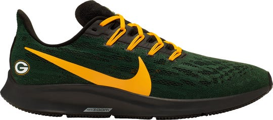Packers-themed Nike shoes are now available for $130 at Dick's Sporting Goods.