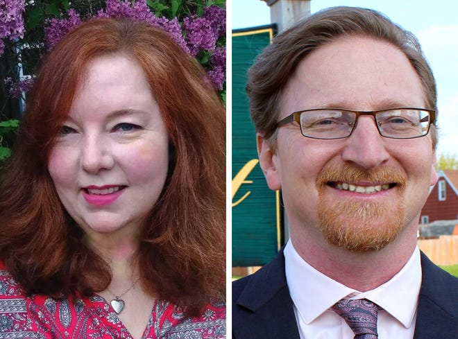 District 13 aldermanic candidates Patty Doherty and Scott Spiker are up for election Tuesday.