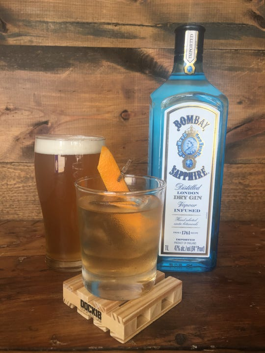 Project Boilermaker on Aug. 8 at Lost Whale will also have a couple of cocktails, including the Gin Old Fashioned, made with beer syrup.