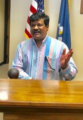 Rao M. Uppu, D-Prairieville, qualified Thursday to run for lieutenant governor.
