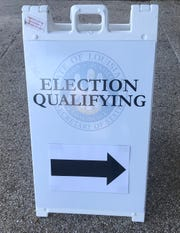 Qualifying for the Oct. 12 election closed Thursday.