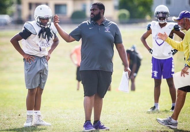 Muncie Central head football coach Darrick Lee is entering his second season leading the Bearcats. When he was in high school, he learned how influential a coach could be on someone's life.