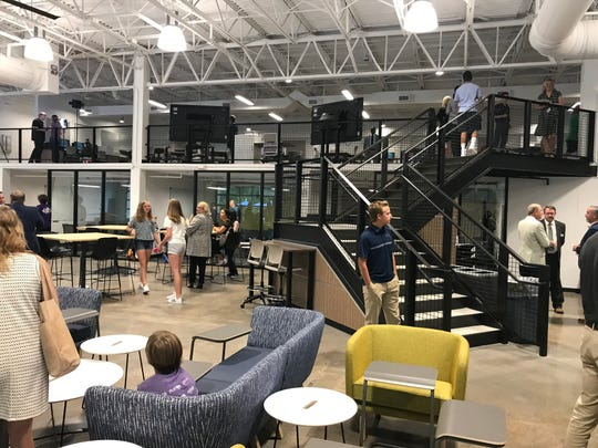The newly-renovated 10,000 square foot Entrepreneurship and Innovation Center opened Aug. 8 on the campus of Franklin High School in Williamson County Schools.
