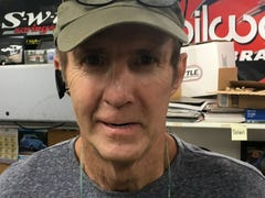 Sterling Marlin will try again to race Saturday at Fairgrounds Speedway