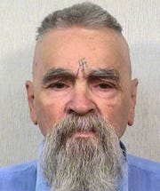 The late Charles Manson in 2014