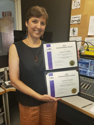 "New Mexico State University's KRWG host Leora Zeitlin has received two first-place awards from the National Federation of Press Women through her segment ""Intermezzo."""