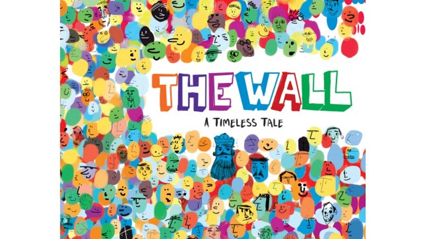 A colorful children\'s book tries to explain border walls