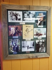 Clint Eastwood wall at Margo's in Alamogordo, NM.