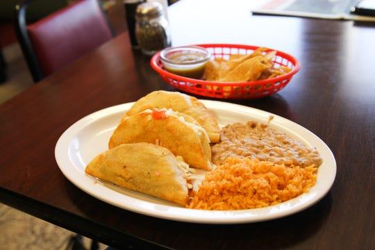 Tacos at Loredo's Bakery in Tularosa, NM.