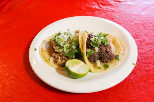 Street tacos at Rizo's in Alamogordo, NM.