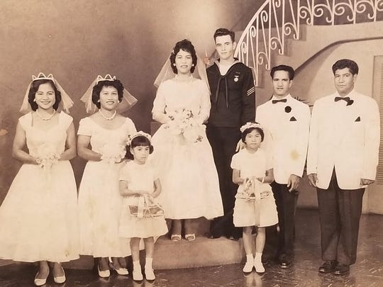 In 1962, my grandparents, Daisy Akuna and David Goodall, marry at the Good Shepherd Episcopal Church in Wailuku, Maui. They would have their youngest child Heidi in 1969.